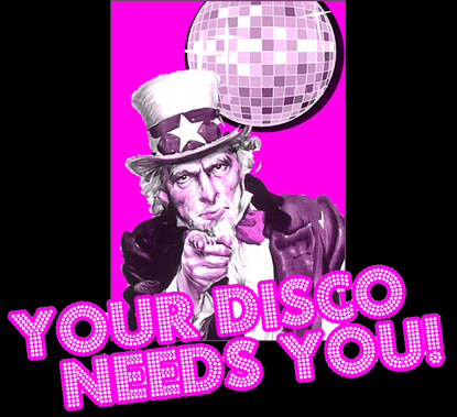 your disco ceilidh needs you